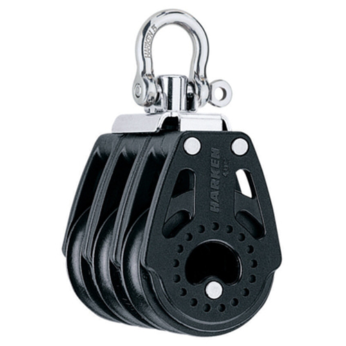 40 mm Triple Block — Swivel (No.2640) Harken