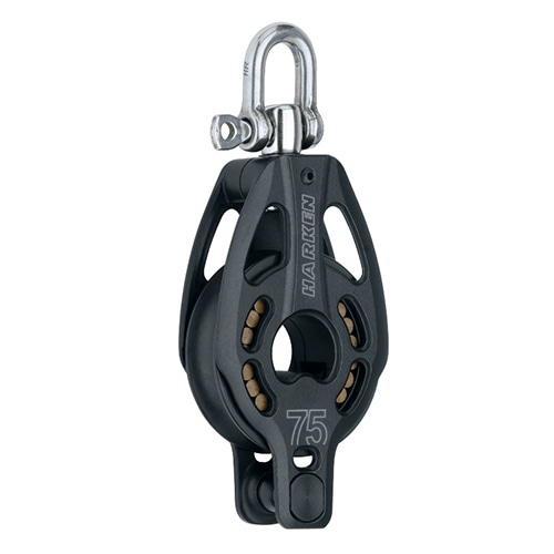 75 mm Aluminum Block — Swivel, Becket (No.3232) Harken