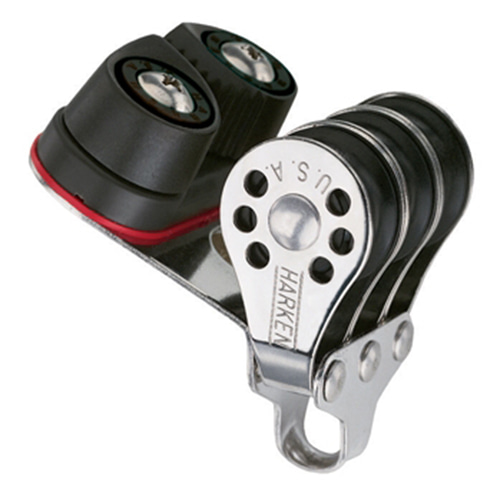 22mm Triple Block - Cam Cleat (No.230) Harken