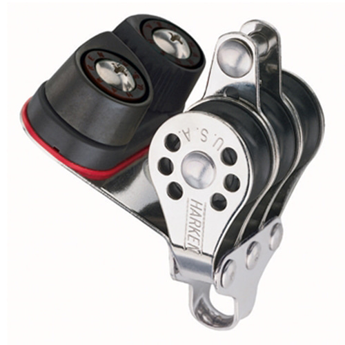 22mm Triple Becket Block - Cam Cleat (No.231) Harken
